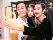 Con gái Xuân Lan thân thiết với Lương Mạnh Hải tại event