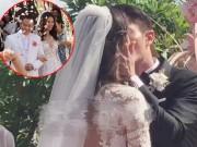 Làng sao - Lâm Tâm Như và Hoắc Kiến Hoa trao nhau nụ hôn ngọt ngào