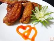 Bếp Eva - Thưởng thức cánh gà chiên giòn siêu ngon