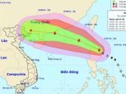 Tin tức - Cảnh báo khả năng bão Nida giật cấp 15-16 đổ bộ vào Bắc Bộ