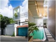 Nhà đẹp - TP.HCM: Nhà ống hẹp 3,8m vẫn thoải mái xây bể bơi giữa nhà