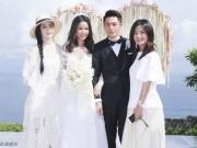 Clip Eva - Video: Hồ Ca và Phạm Băng Băng tranh nhau đứng lên bắt hoa cưới