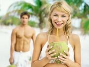 Tin tức thị trường - Muốn da sáng mụn sạch đừng quên nước dừa