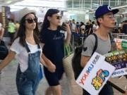 Làng sao - Lâm Tâm Như lộ bụng bầu cùng Hoắc Kiến Hoa về Đài Loan tổ chức hôn lễ lần 2