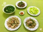Bếp Eva - Bữa cơm chiều nhiều món ngon ơi là ngon