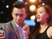 Làng sao - Trấn Thành thân thiết quá mức với cô gái hát giống hệt Phương Thanh
