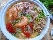 Bếp Eva - Bún hải sản tươi ngon, bổ dưỡng cuối tuần