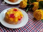 Bếp Eva - Bánh Trung thu rau câu nhân hoa quả vừa ngon vừa đẹp