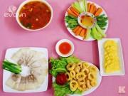 Bếp Eva - Bữa cơm chiều thanh mát, dễ ăn cho ngày nóng