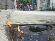 Tin tức - Tìm ra thủ phạm khiến 11 giếng nước… cháy ngùn ngụt