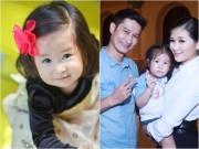 """Con gái Huy Khánh """"đốn tim"""" cộng đồng mạng khi bắt mẹ xin lỗi bố"""
