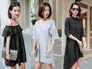 Thời trang - BTV thể thao hot nhất nhì Việt Nam gợi ý mặc đẹp với màu ghi, đen