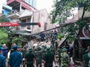 Tin tức - Hà Nội: Sập nhà 4 tầng trên phố cổ, 2 nạn nhân đã tử vong