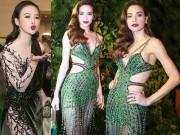 Thời trang - Hà Hồ, Angela Phương Trinh nóng bỏng hết nấc với váy xuyên thấu