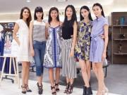 Tin tức thời trang - Fashionista Thanh Trúc đọ sự thanh lịch cùng dàn siêu mẫu Next Top
