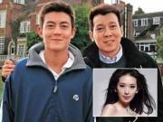 """Làng sao - Bố con Trần Quán Hy cùng tố """"chân dài số 1 xứ Đài"""" bán dâm, giả tạo"""