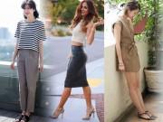 Thời trang - Tháo gỡ nỗi mặc cảm cho cô nàng lưng dài chân ngắn