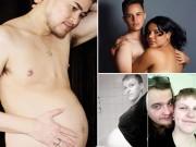 Bà bầu - Những ông bố nổi tiếng thế giới vì mang bầu, sinh con thay vợ