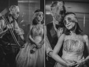 Eva Yêu - Bộ ảnh cưới như phim kinh dị khiến ai xem cũng phải giật mình