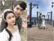 """Làng sao - Vợ chồng Tim - Trương Quỳnh Anh hạnh phúc cùng nhau """"đi trốn"""""""