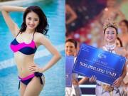 Làng sao - Trần Thu Ngân đoạt vương miện HH Bản sắc Việt toàn cầu 2016