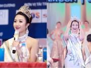 Làng sao - Giây phút đăng quang đáng nhớ của Tân Hoa hậu Bản sắc Việt