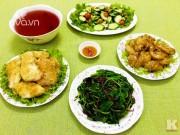 Bếp Eva - Bữa cơm chiều nhiều món ăn ngon