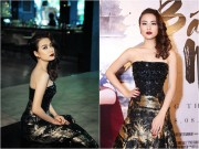 Làng sao - Hoàng Thùy Linh lạnh lùng diện váy 300 triệu đi sự kiện