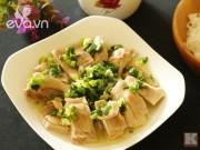 Bếp Eva - Thích mê với gà hấp mỡ hành
