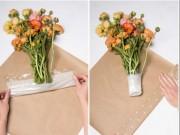 Nhà đẹp - Màng bọc thực phẩm: Bắt ruồi, sạch tủ lạnh, giữ hoa tươi,...