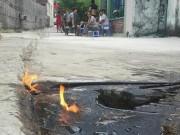 Tin tức - Quảng Ninh: Xác định nguyên nhân làm nước giếng bốc cháy