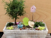 Nhà đẹp - Nhà nhỏ vẫn tha hồ biến hóa với chậu cây 'cổ tích'