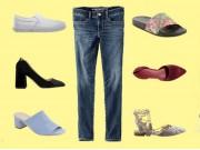 Thời trang - 7 mẫu giày dép kết hợp tuyệt đỉnh cho chiếc quần jeans mùa thu
