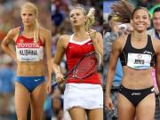 Những bóng hồng xinh đẹp của các kỳ Olympic khiến mày râu ngất ngây