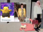Không thể nhịn cười khi Pokemon Go xâm nhập vào thời trang