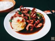 Bếp Eva - Đãi cả nhà bạch tuộc xào cay