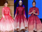 Thời trang - Hoa hậu Phạm Hương dính nghi án mặc váy nhái