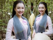 Thời trang - Hoa hậu Việt Nam 2016: Dù bị tố thi chui, nàng thơ xứ Huế vẫn xuất hiện rạng rỡ