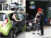 Làng sao - Bắt gặp Dương Yến Ngọc và Lương Bằng Quang tình tứ trên phố