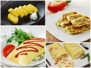 Bếp Eva - 4 món trứng cuộn ngon nhìn là muốn ăn