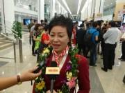 Nữ huấn luyện viên Nguyễn Thị Nhung vỡ òa cảm xúc ngày về