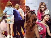 Bán kết X-Factor: Thí sinh nhóm S-Girls bất ngờ ngất xỉu ngay trên sân khấu