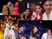 """Làng sao - TV Show tuần qua: Hương - Khuê """"thất thế"""" dưới tay Hà Hồ, Vietnam Idol gặp sự cố"""