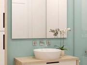 Nhà đẹp - Đủ mẹo biến phòng tắm chật hẹp trở nên thoáng đãng hơn
