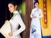 Thời trang - Việt Trinh khoe nhan sắc vượt thời gian với áo dài