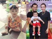 Làng sao - Con trai Huỳnh Đông - Ái Châu có khuôn mặt hài hước như bố mẹ