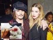 Làng sao - Johnny Depp tự cắt đứt đầu ngón tay, viết thư tố vợ cũ phản bội