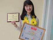 Tin tức - Nữ sinh nói 7 thứ tiếng đậu hai trường ĐH lớn tại Hà Nội