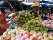 Mua sắm - Giá cả - Nở rộ trái cây Trung Quốc núp bóng hàng Việt