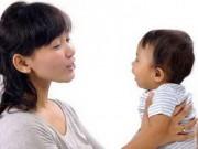 Biết 9 cách nhỏ này, mẹ sẽ giúp trẻ sơ sinh học nói rất nhanh